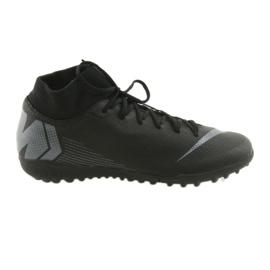 Chaussures de football Nike Mercurial SuperflyX 6 Academy TF M AH7370-001 noir noir