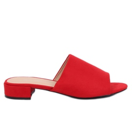Chaussons Femme Rouge XW9093 Rouge