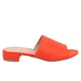 Chaussons Femme Orange XW9093 Orange