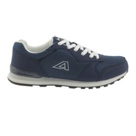 Chaussures de sport bleues American Club 12 marine
