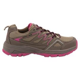 Brun Chaussures de trekking pour femmes