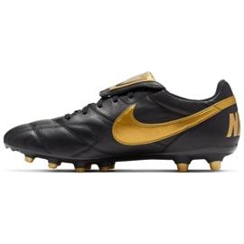 Chaussures de foot Nike Premier Ii Fg M 917803-077 noir noir