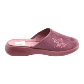 Befado chaussures pour femmes pu 019D096 pourpre