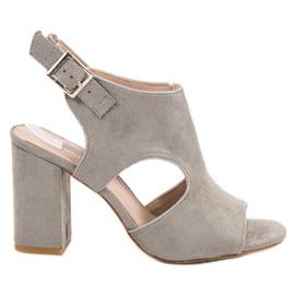 Vinceza Sandales Sandales gris