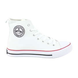 Blanc Sneakers White Tied American Club