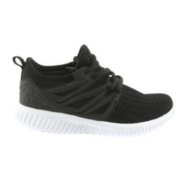 Semelle intérieure en cuir Bartek 55114 Chaussures de sport noires