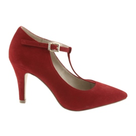 Chaussures femme rouge Caprice 24400