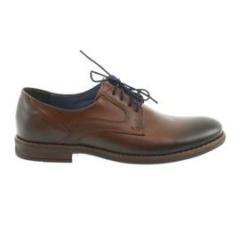 Hommes chaussures noires Nikopol 1712 brun