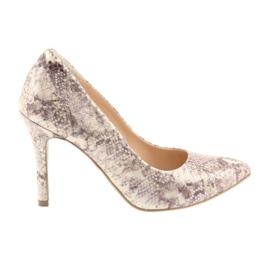 Chaussures femme Edeo 3313 peau de serpent
