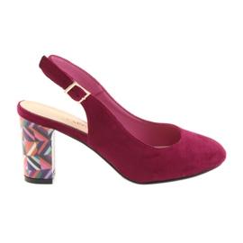 Sandales à la poste Sergio Leone 788 rose