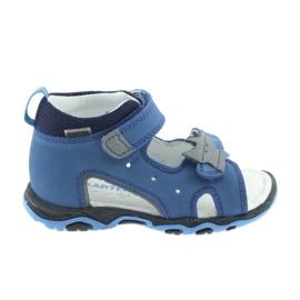 Sandales garcons navets Bartek 51489 bleu
