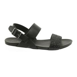 Sandales noires confortables Filippo 685 Brocade