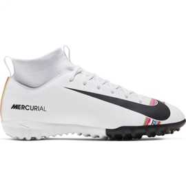 Chaussures de football Nike Mercurial Superfly X 6 Academy Tf Jr AJ3112-109