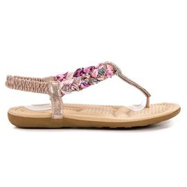Cm Paris rose Sandales japonaises à la mode