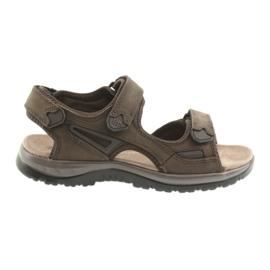 Sandales à scratch en EVA DK brun clair