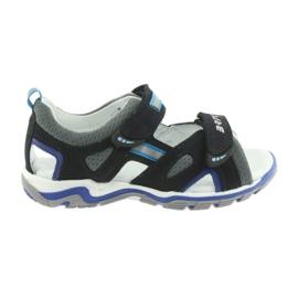 Sandales garcons navets Bartek bleu marine