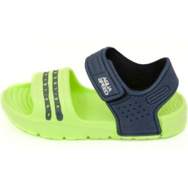 Sandales Aqua-speed Noli vert bleu marine col .84
