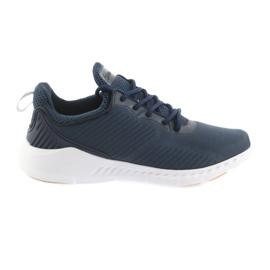 American Club Chaussures de sport American FH08 bleu marine