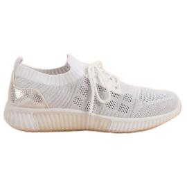 Primavera Chaussures Slip Blanches