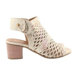 Sandales avec Badura 4723 supérieur