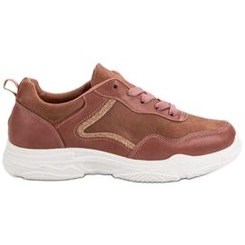 SHELOVET Sneakers à la mode rose