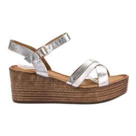 Seastar Sandales légères sur compensées gris