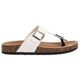 Seastar Tongs confortables blanc