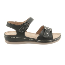 Sandales pour femmes comfort DK 25131 noir