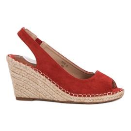 Seastar rouge Sandales Weddered