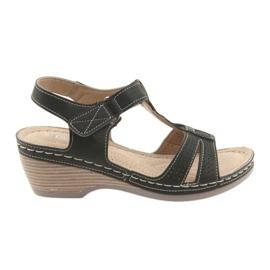 Sandales confortables pour femmes DK noir