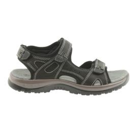 DK sandales noir velcro light EVA bas