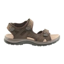 Sandales DK Marron Velcro Light EVA brun