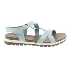 Big Star bleu Sandales confortables