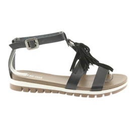 Big Star Boho Sandals 274958 noir