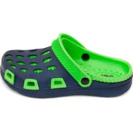 Chaussons Aqua-speed Silvi Jr col 48 vert bleu marine