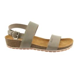 Sandales grises pour femmes Big Star 274A014