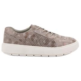 Goodin brun Chaussures à lacets