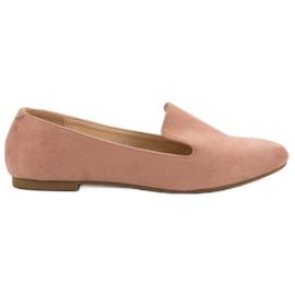 Lily Shoes Seigneur suède rose