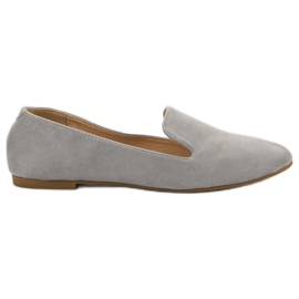 Lily Shoes Seigneur suède gris