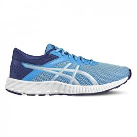 Bleu Chaussures de running Asics fuzeX Lyte 2 T769N-4393