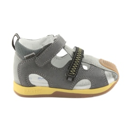 Sandales pour garçons Navets Bartek 81772 gris
