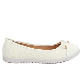Ballerines femme blanches 7846-P Blanc