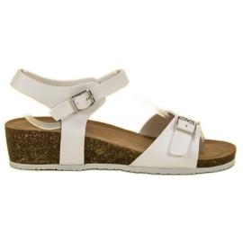 Seastar Sandales compensées classiques blanc