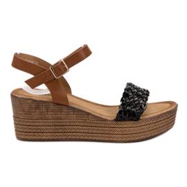 Seastar noir Sandales Légères