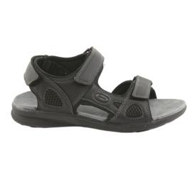 American Club American Youth Sports Sandals HL08 cz noir