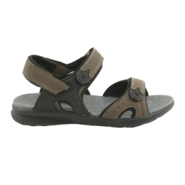 American Club American Youth Sports Sandals HL09 noir / kaki