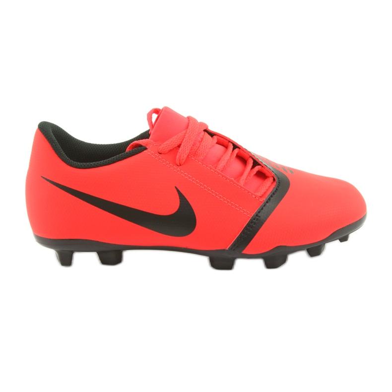 Chaussures de football Nike Phantom Venom Club Fg Jr AO0396-600 rouge