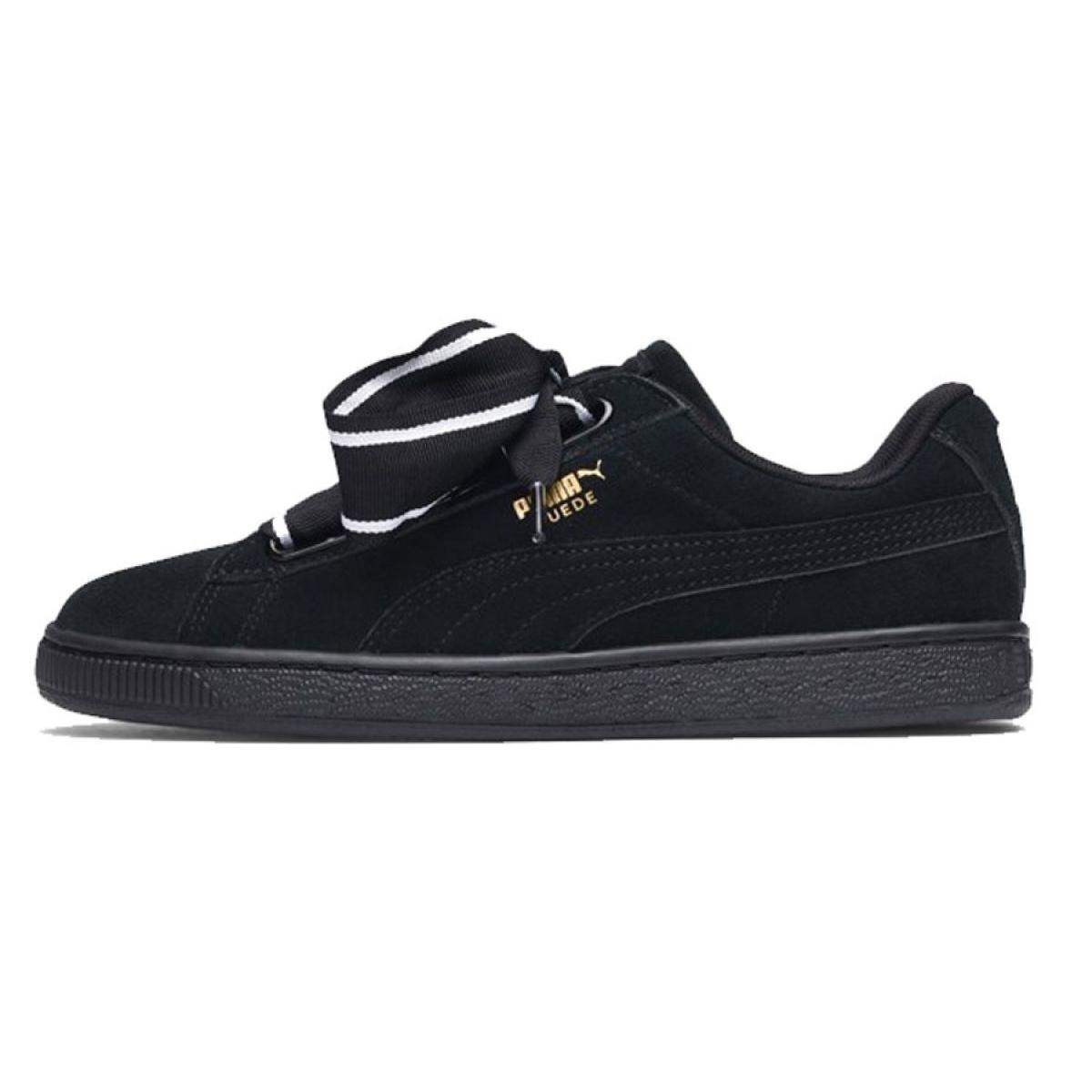 Heart Butymodne Suede Satin Ii Puma 01 Chaussures 364084 W Noir pl 3TKJ1cuF5l