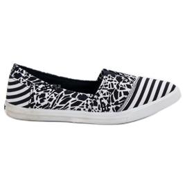 Sweet Shoes marine Slipons Avec Motif
