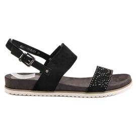 Evento Sandales noires ajourées